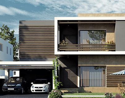 House for Mr. Jamshaid at DHA Phase-2 Islamabad