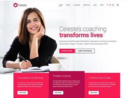 Celeste - Life & Health Coaching WordPress Theme