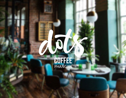 """Branding for the coffee house """"Dots"""""""