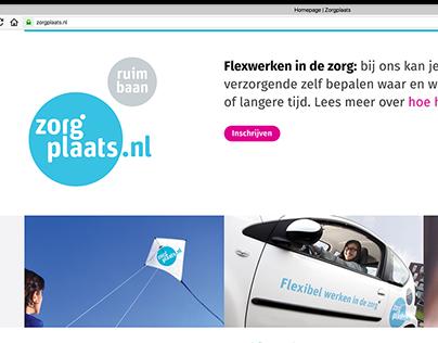 Redesign zorpgplaats.nl