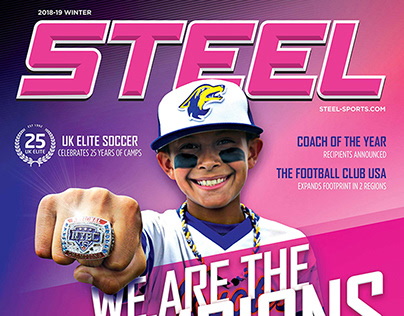 Steel Sports Magazine Cover