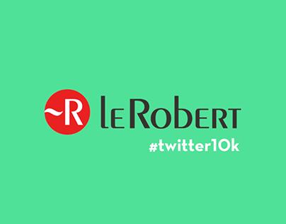 Le Robert - Twitter 10k