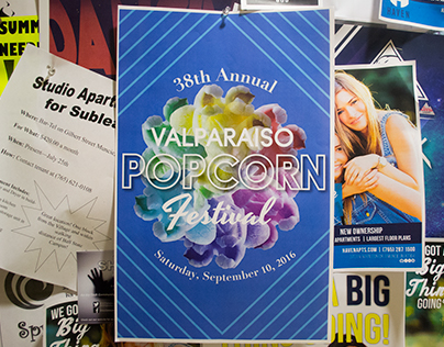 Contest Entry for Valparaiso Popcorn Festival Poster