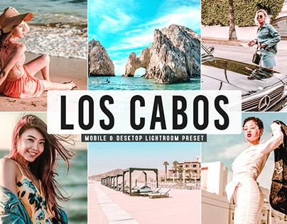Free Los Cabos Mobile & Desktop Lightroom Preset