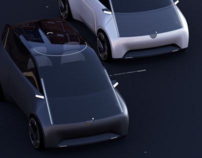 2030 Volvo Compact Concept--Thesis Project