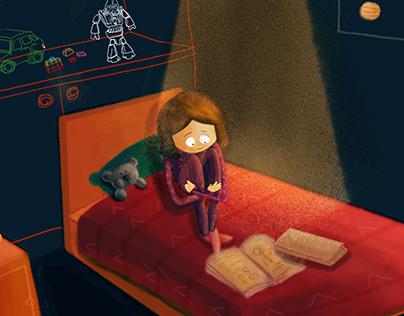 Nila children's book illustrations