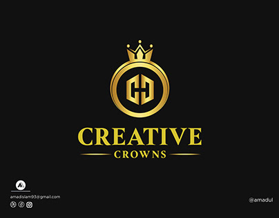 Crown Logo   Golden Logo   Modern Logo