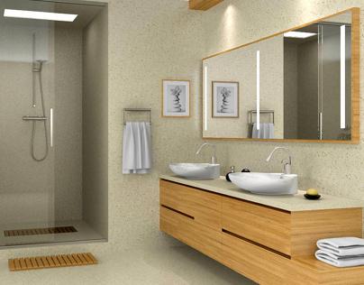 ARCHITECTURAL VISUALISATION / PART 02 - BATHROOM