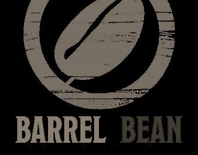 Logo design: Barrel&Bean Library Pub, Rapid City, SD