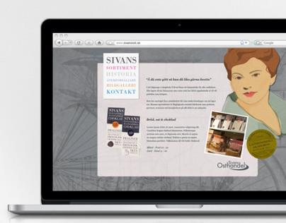 Sivans | Web | Design