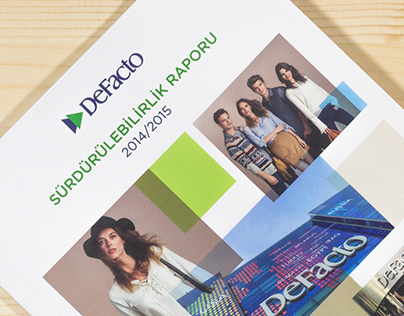 Defacto Sustainability Report 2014 / 2015