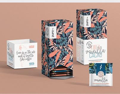 PURO Coffee - Packaging design