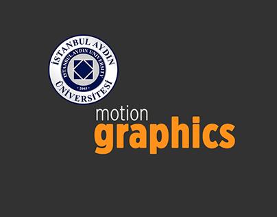 Aydın University Motion Graphic