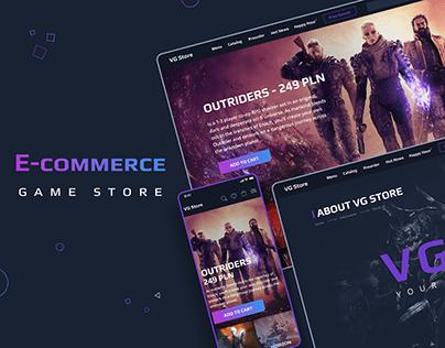 E-commerce Game Store