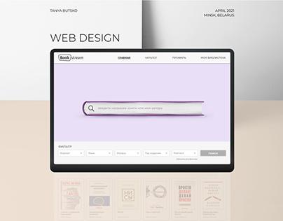 Web Design BookStream