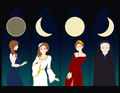 Catro lúas