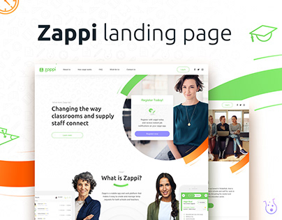 Zappi Landing Page - Emotions Behind the Brand