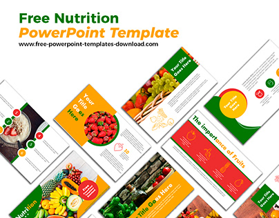 Free Nutrition PowerPoint Template