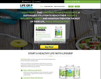 Life Grip Mockup