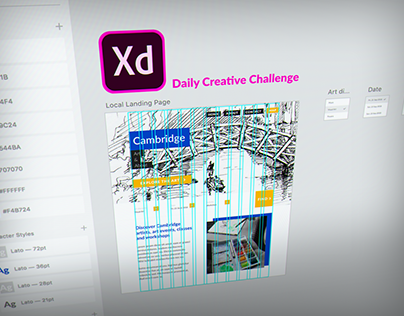 Adobe XD Daily Challenge September 2018 #2 #4