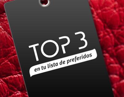 TOP 3 - Post para redes sociales
