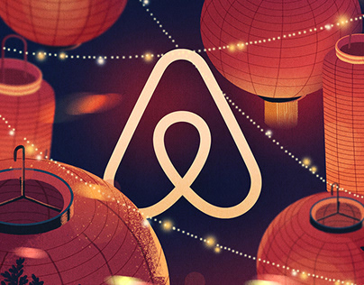 China airbnb new year's red envelopes design
