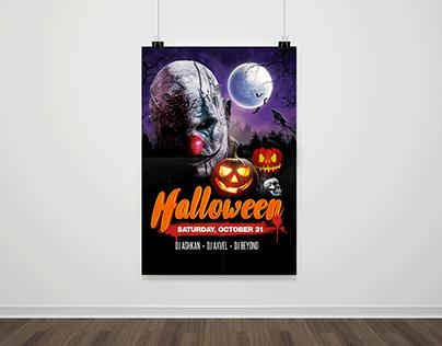 halloween flyer template PSD halloween costume ideas