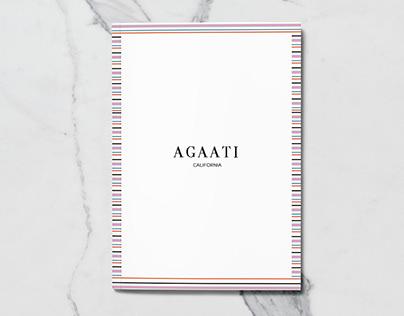 Lookbook Design Agaati