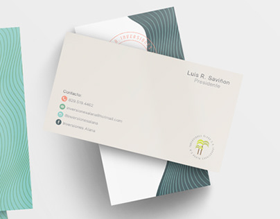 Business Cards - Inversiones Alana