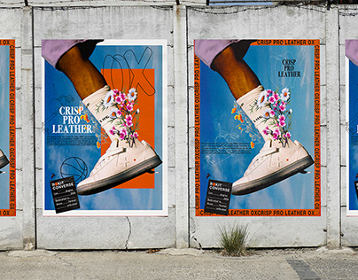 Advertising Poster for @ROKIT & @CONVERSE