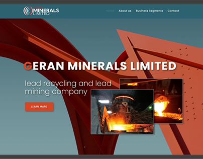 Website Project Geran MInerals