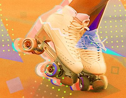 Colagem patinação