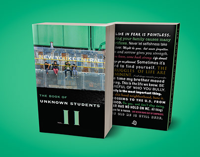 Unknown Students Vol. 2 - Book Cover Design