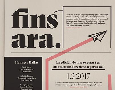BCN Més newspaper redesign