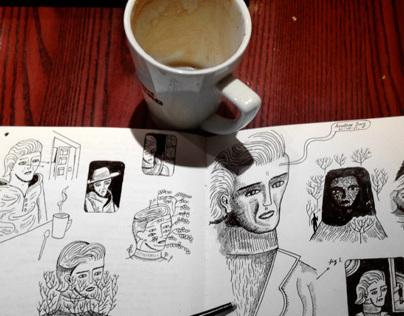 Cafe Nero Daily Sketchbook & Coffee II