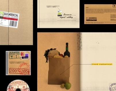 Armenian Export Catalog 2003-2004