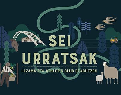 SEI URRATSAK / Lezama