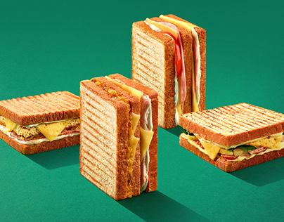 Sandwich photography