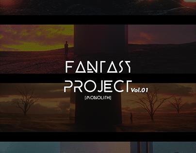 Fantasy Project Vol. 01 - Monolith (Cover Art)