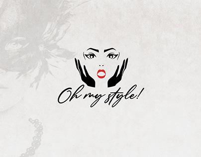 "Логотип и презентация для проекта ""Oh my style"""