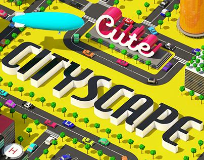 [WIP] Cute Cityscape