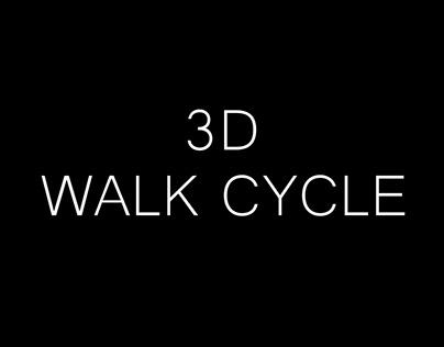 3D Walk Cycle