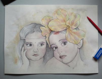 "* Retratos por encargo / ""Laura & Celia"""
