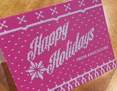 Andculture Holiday Card