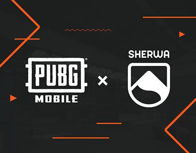 PUBG Mobile x Sherwa   Live & Social Media