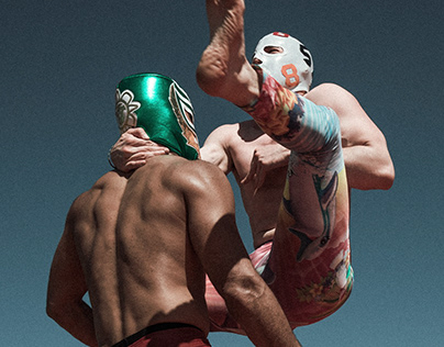 Luchadores in the Park