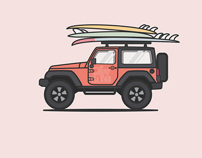 'Jeep' Illustrations