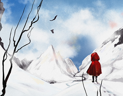 RED LITTLE RIDING HOOD.
