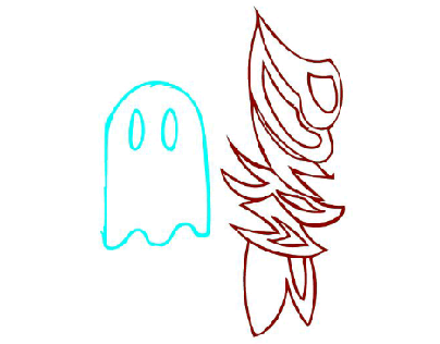 my name and ghost