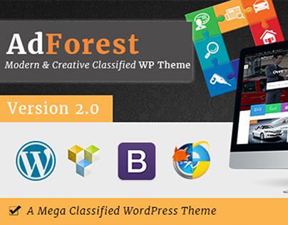 Classified Wordpress Theme By AdForest